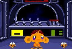 Игра Счастливая обезьянка в мире научной фантастики