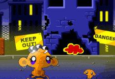 Игра Безумная обезьянка в мире хаоса