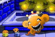 Игра Рождественская обезьянка