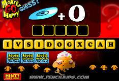 Игра Счасливая обезьянка: угадай-ка