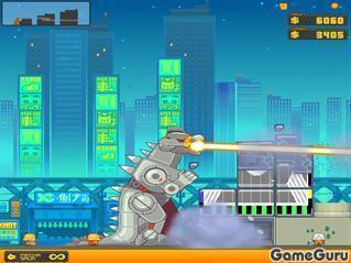 Игра Разрушитель зданий: Токио