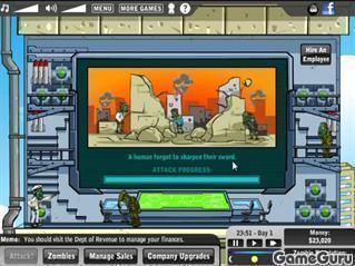 Игра Корпорация зомби