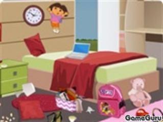 Игра Уборка комнаты
