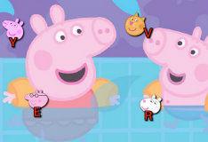 Игра Изучаем алфавит вместе со свинкой Пеппой