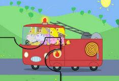 Игра Пеппа пожарник