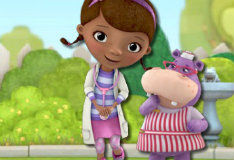 Игра Для девочек: доктор плюшева