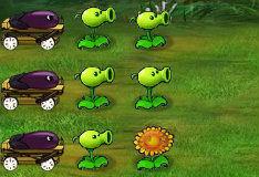 Игра Майнкрафт: растения против зомби