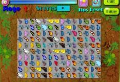 Игра Игра Маджонг с бабочками