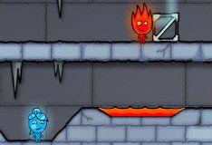 Игра Игра Огонь и Вода: Ледяной Храм