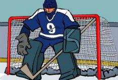 Испытание хоккеем