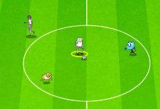 Игра Мультяшный футбол