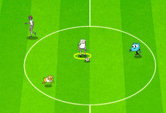Мультяшный футбол