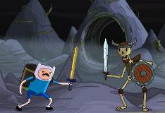 Игра Финн и армия скелетов
