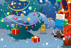 Игра Подарки на Рождество