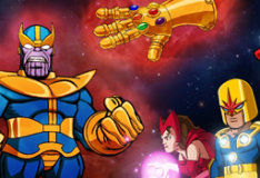 Отряд супергероев: камни Таноса