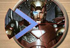 Игра Железный человек: пазл-пицца