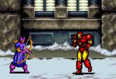 Игра Железный человек против Соколиного Глаза
