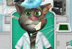 Игра Кот Том в больнице