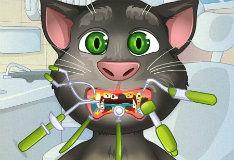 Игра Кот Том у зубного