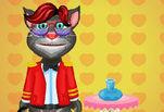 Игра Говорящий кот Том одевалка