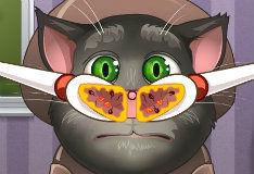 Игра Кот Том - Посещение ЛОРа