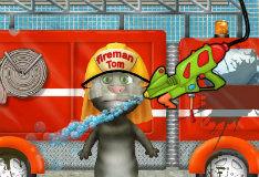 Игра Мытье пожарной машины