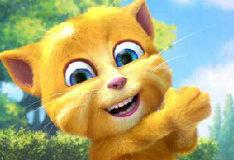 Игра Говорящий кот Рыжик 2