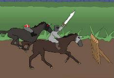 Игра Рыцарь против рыцаря