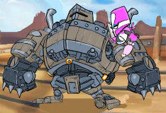 Рыцарь в розовой броне