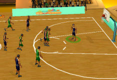 Симулятор баскетбола в 3D