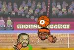 Играть бесплатно в Спортивные головы баскетбол