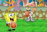 Играть бесплатно в Спанч Боб играет в баскетбол