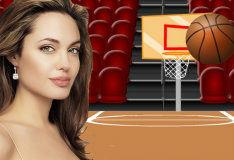 Баскетбол с Анджелиной Джоли