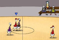 Игра Баскетбол нарисованных человечков