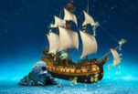 Играть бесплатно в Загадка пиратского острова: Летающий корабль