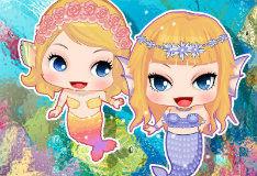 Игра Сестры-русалочки