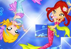 Игра Русалочки Винкс для девочек