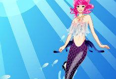 Игра Восхитительные наряды русалочки