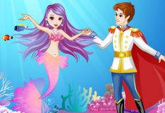 Игра Влюбленная русалочка