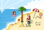 Играть бесплатно в Пляжная вечеринка