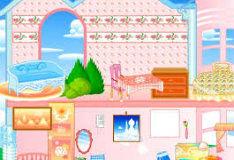 Игра Укрась-ка кукольный домик