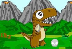 Игра Создай своего динозавра