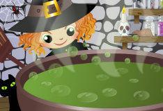 Игра Для девочек: готовить зелье