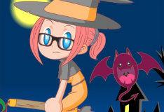 Игра Гардероб маленькой ведьмы
