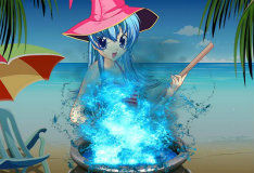 Игра Ведьма на курорте
