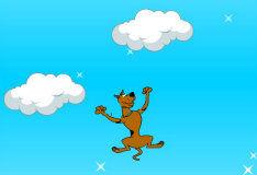 Игра Скуби Ду: прыжки по облакам