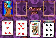 Игра Скуби Ду: Пасьянс