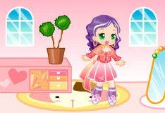 Игра Розовый кукольный домик 2