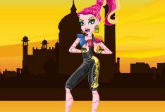 Игра Гиги Грант: одевалка