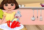 Игра Рецепт томатного пирога от Даши